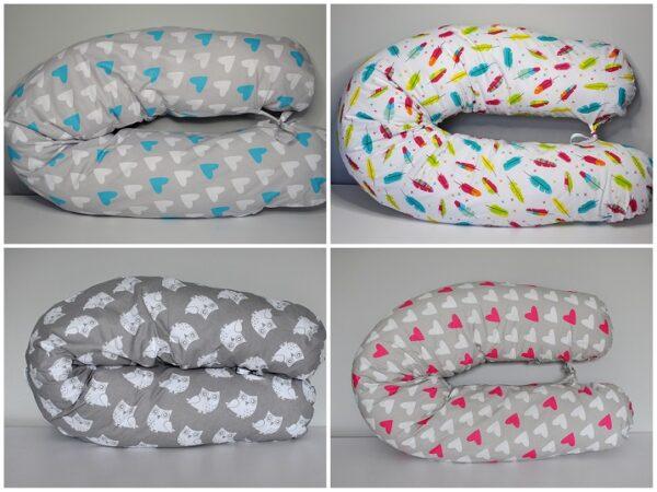 .Poszewka na poduszkę do spania - 14 wzorów