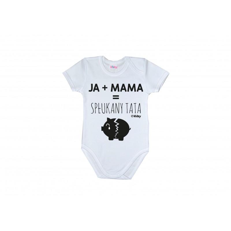 Body Ja+mama=spłukany tata kr.rękaw