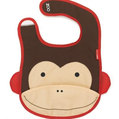 Zoo Bib - Monkey © Skip Hop 2010. For use in the promotion of Skip Hop products only.