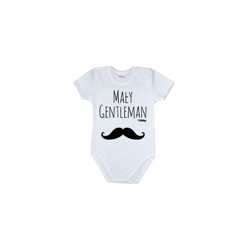 Body Mały Gentleman kr.rękaw