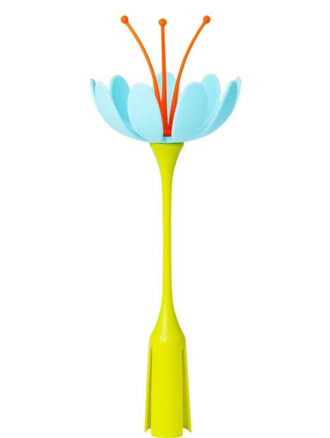 Stojak do suszarki Niebieski kwiat