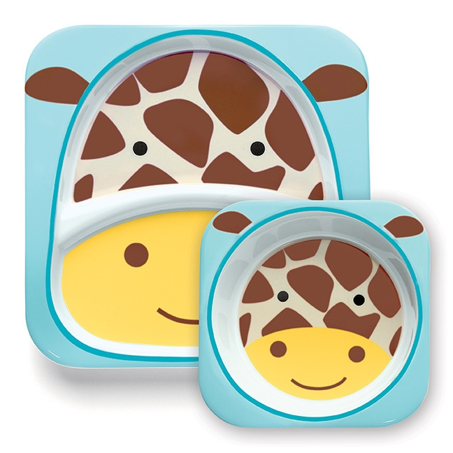 Zestaw jedzeniowy SKIP HOP Żyrafa