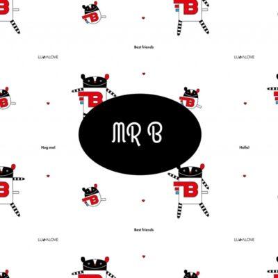 Poduszka muślinowa MR.B