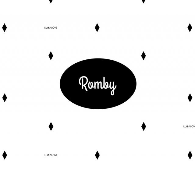 Poduszka muślinowa Romby