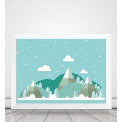 Obrazek w ramce Góry