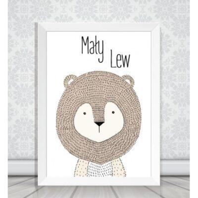 Obrazek w ramce Mały Lew
