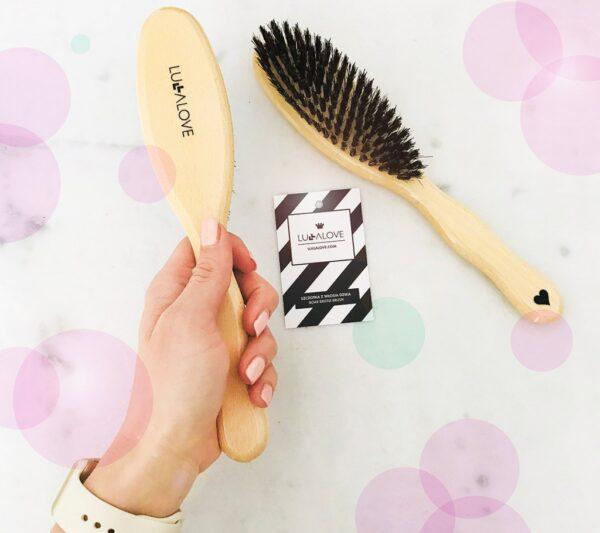 Dzika szczotka do włosów | Lullalove