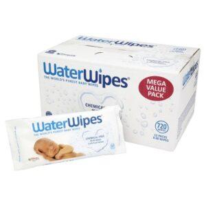 .WaterWipes Chusteczki nasączane samą wodą 60szt