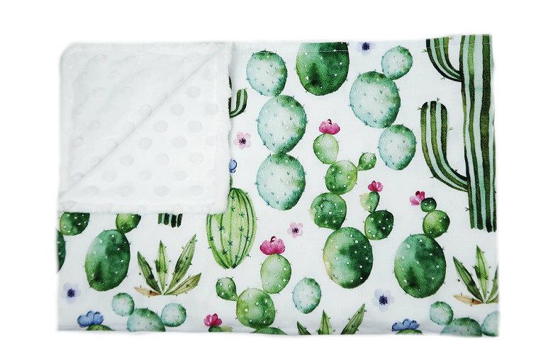 Kocyk Kaktusy - różne rozmiary