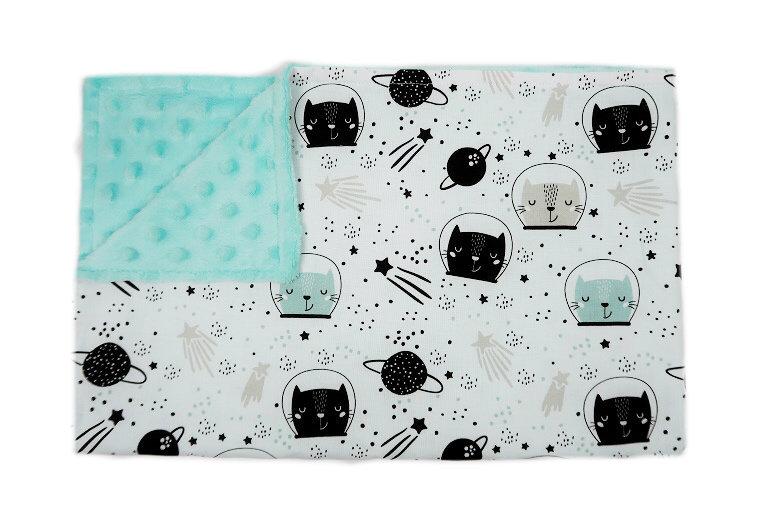 Kocyk Kosmiczne Koty - różne rozmiary