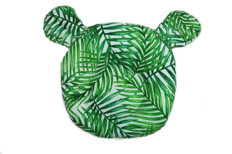 Poduszka potyliczna dla noworodka Miś – 9 wzorów