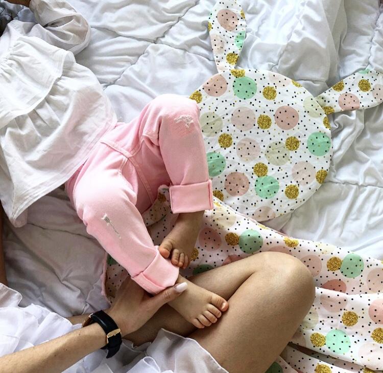 Płaska poduszka Króliczek- 9 wzorów