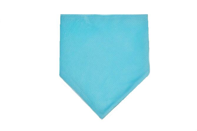 Apaszka/śliniak Velvet Błękit