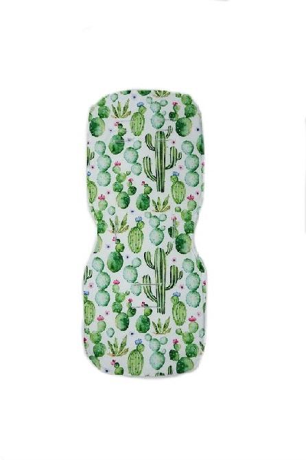 Wkładka do wózka Kaktusy