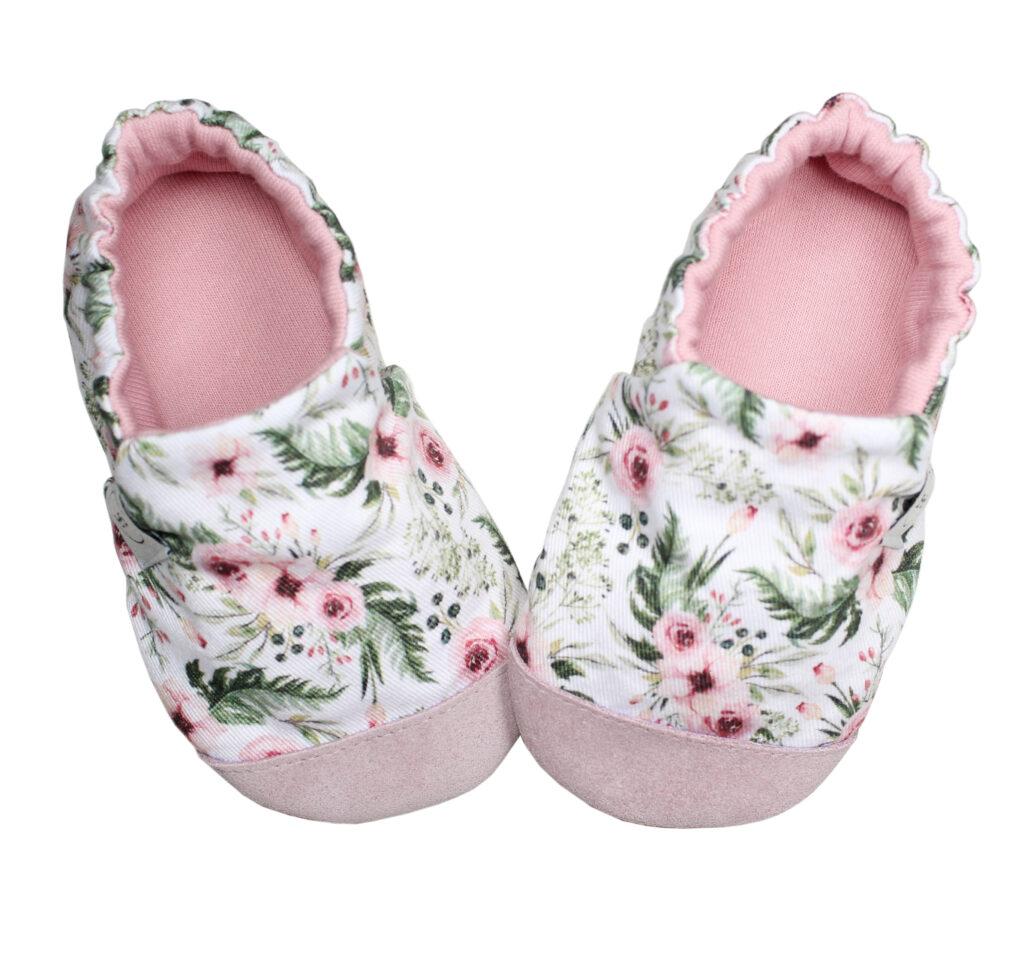 Kapcie Dziecięce Pink Blossom