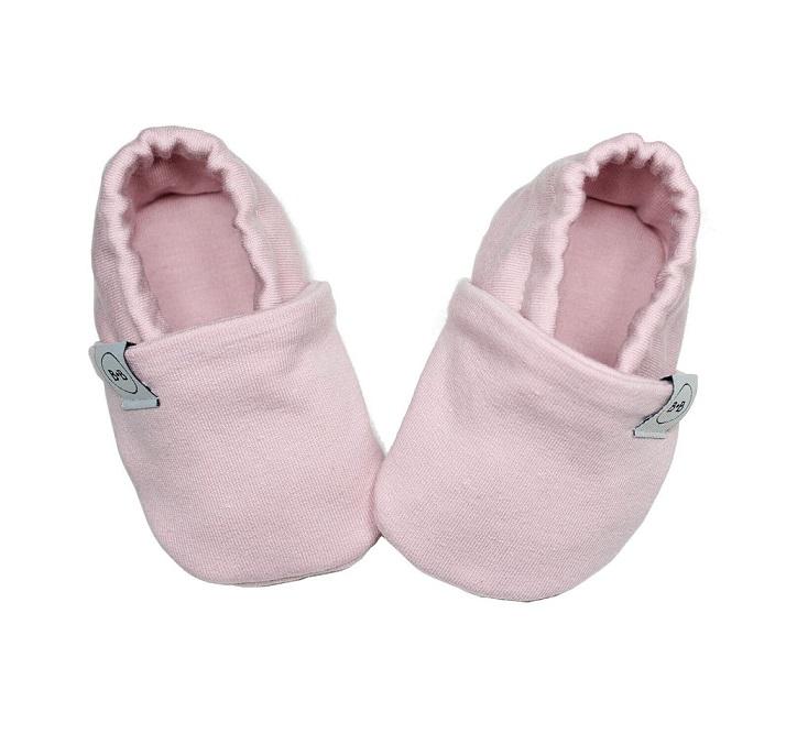 Buciki Newborn Blush Pink