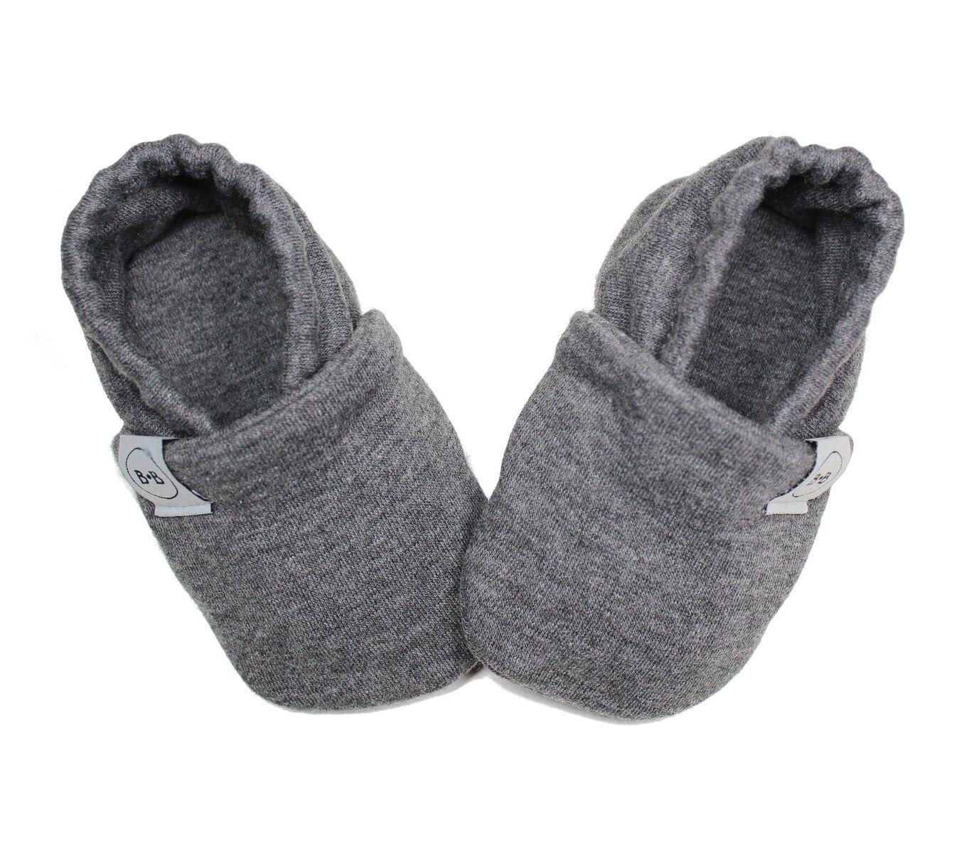 Buciki Newborn Dark Grey