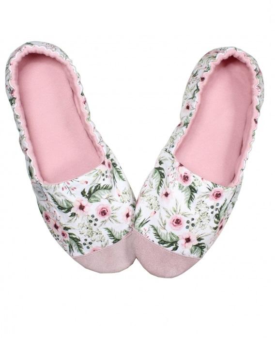 Kapcie Mama Pink Blossom