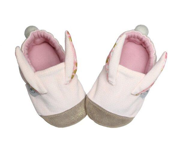 Kapcie dziecięce Hello Bunny Pink