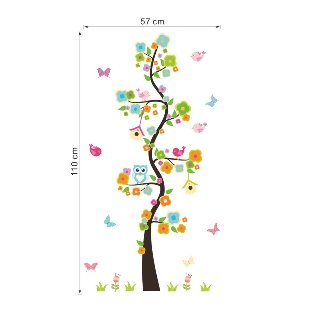 Naklejka ścienna Drzewo kwiatowe XL
