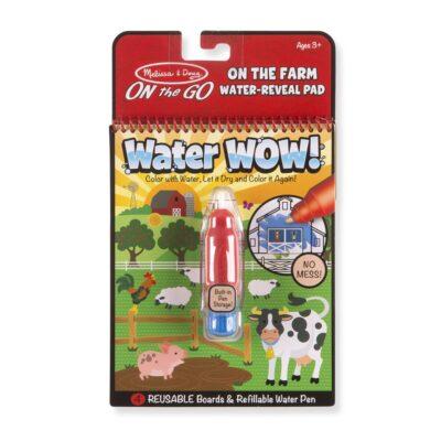 Kolorowanka wodna wielokrotnego użytku Farma Melissa&Doug