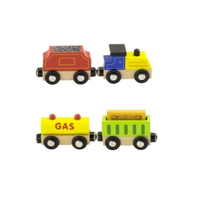 Pociąg towarowy Goki / Viga Toys