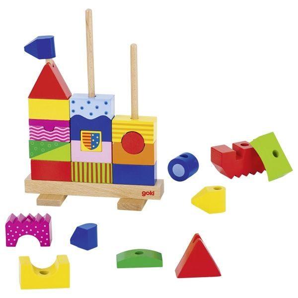 Zamek do układania na palikach
