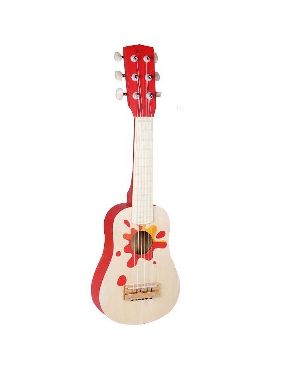gitara czerwona