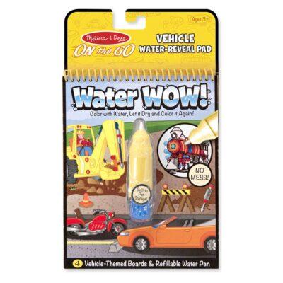 Kolorowanka wodna wielokrotnego użytku Pojazdy Melissa&Doug