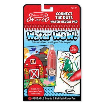 Kolorowanka wodna wielokrotnego użytku Połącz Kropki Melissa&Doug