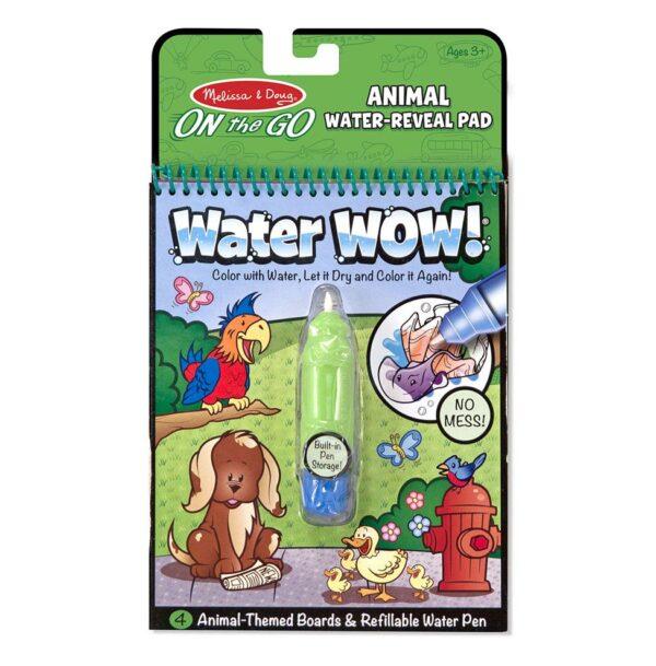 Kolorowanka wodna wielokrotnego użytku Zwierzaki Melissa&Doug