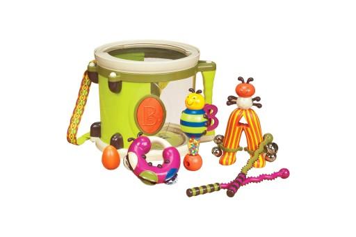 Bębenek z instrumentami B.Toys