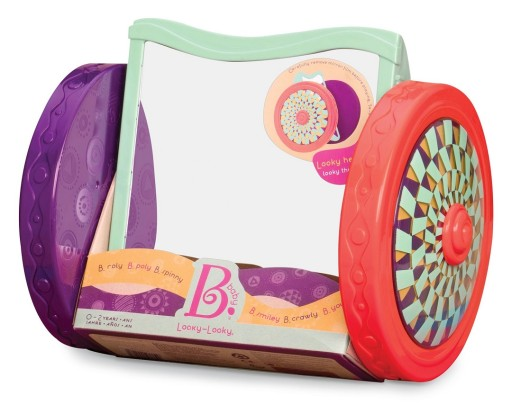 Lustro na kółkach dla niemowląt B.Toys