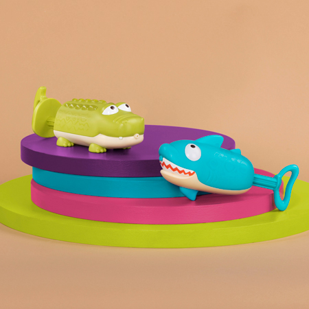 Zestaw psikawek Rekin i Krokodyl B.Toys