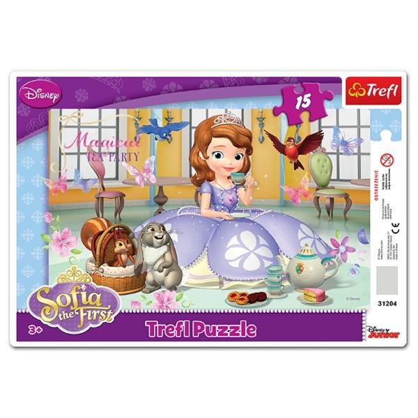 Puzzle w ramce 15el. Księżniczka Sofia Trefl