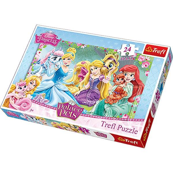 Puzzle MAXI 24el Księżniczki
