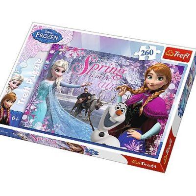 Puzzle 260el Miłość w krainie lodu