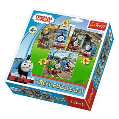 Puzzle 3w1 Tomek rusza do akcji
