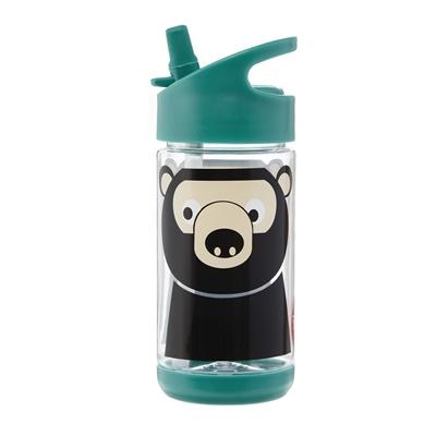 Bidon Niedźwiedź Teal 350 ml | 3 Sprouts