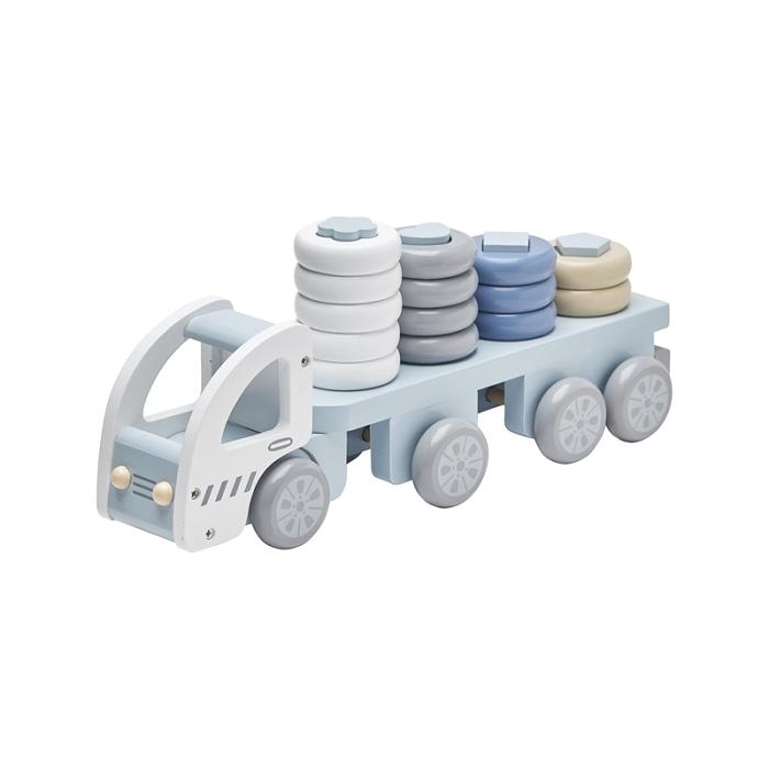 Ciężarówka z klockami Niebieska | Kids Concept