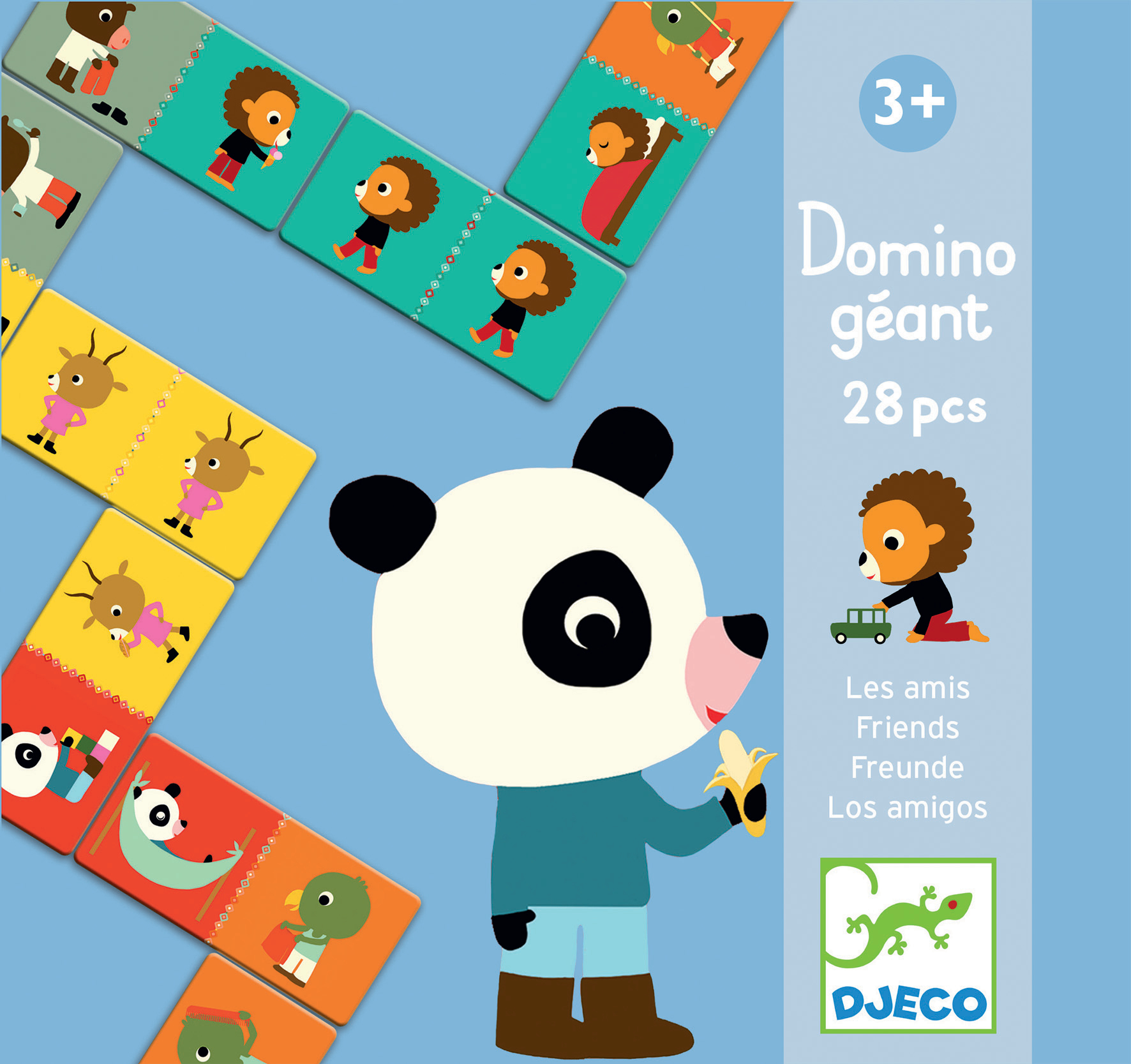 Domino GIGANT Przyjaciele | Djeco