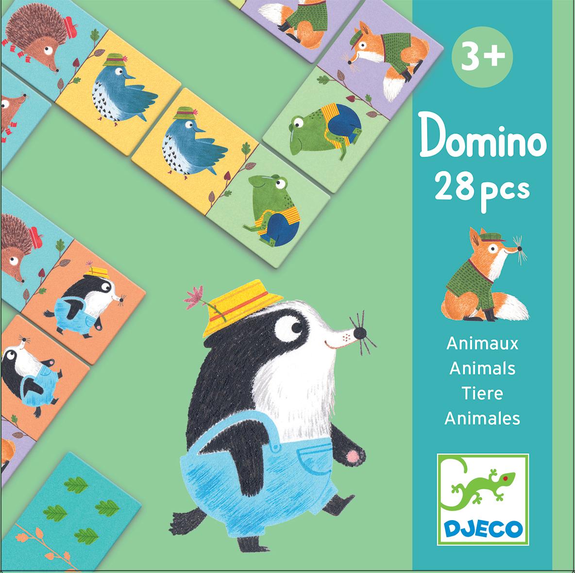Domino Zwierzątka | Djeco