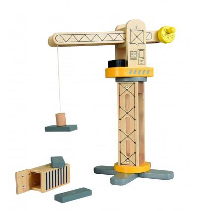 Drewniany Dźwig Egmont Toys