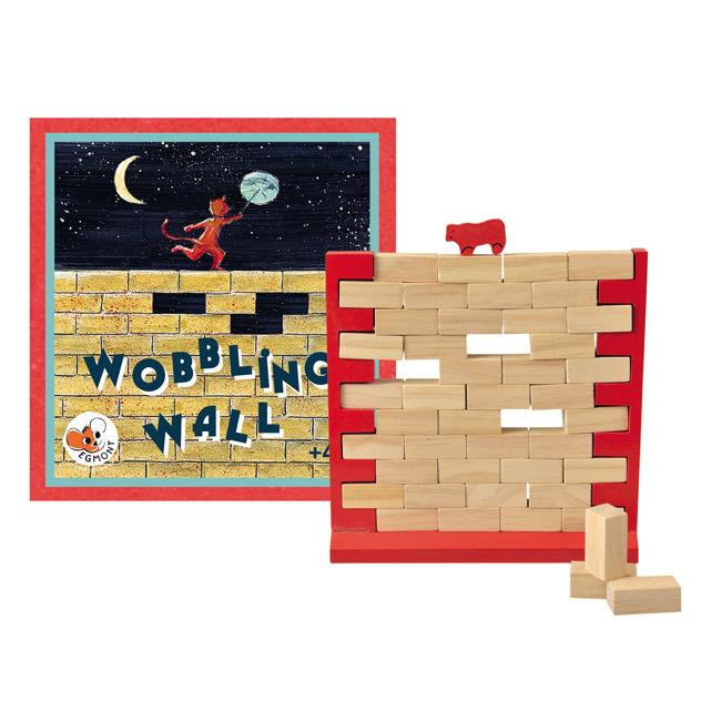 Gra drewniana Chwiejny mur