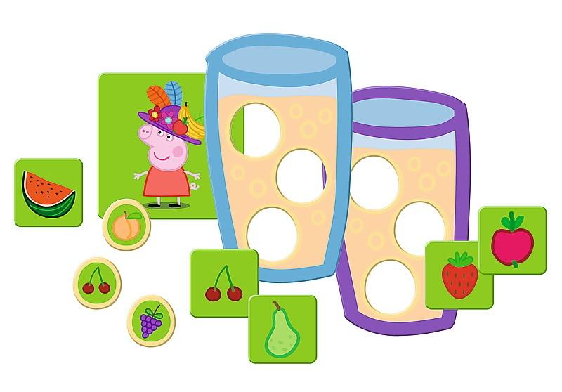 Gra Świnka Peppa Fruity day