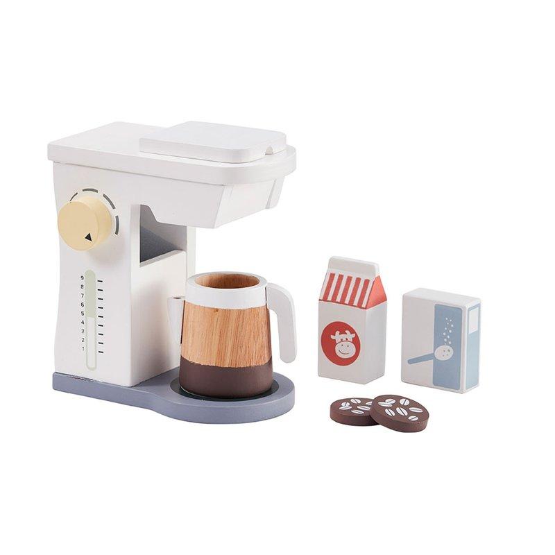 Drewniany ekspres do kawy z akcesoriami Kids Concept