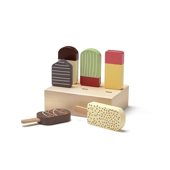 Drewniane lody w skrzynce | Kids Concept