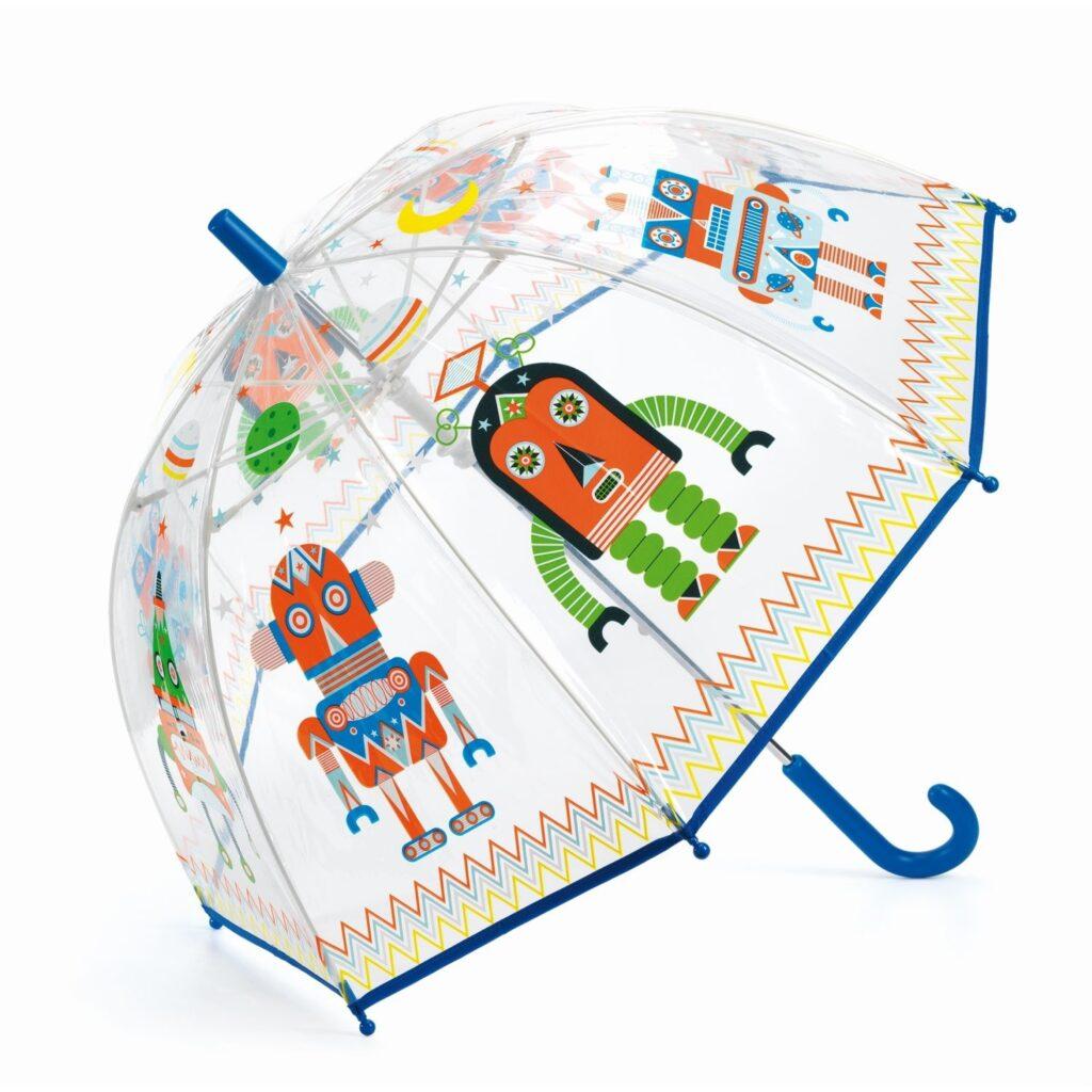 Parasol przeciwdeszczowy Roboty | Djeco