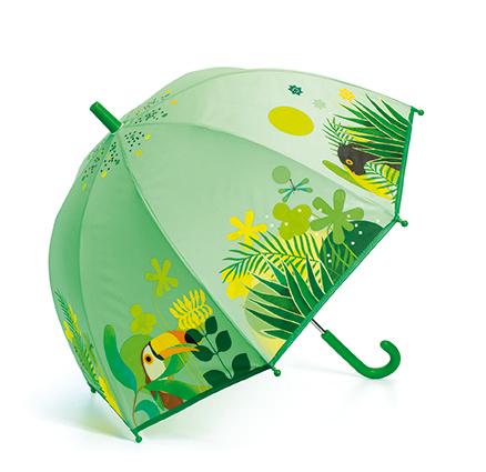 Parasol przeciwdeszczowy Tropikalna dżungla | Djeco