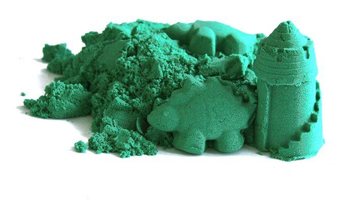 Piasek kinetyczny zielony 2kg